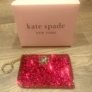 ♠️ NWT ♠️ Medium L-Zip Card Holder kate spade